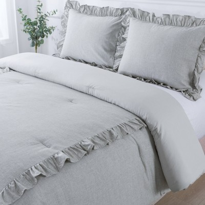 Belle Ruffle Comforter Set - Country Living