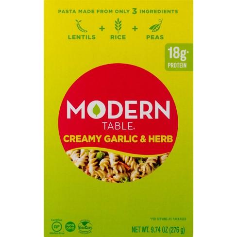 Modern Table Creamy Garlic & Herb Lentil Pasta Meal Kit - 9.74oz - image 1 of 3
