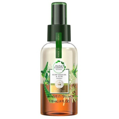 Herbal Essences bio:renew Hemp Seed Oil & Aloe Lightweight Hair Oil Mist - Moisture - 4 fl oz