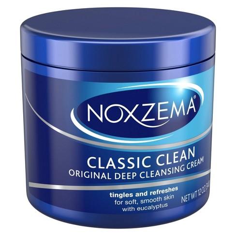 How To Use Noxzema >> Noxzema Classic Clean Original Deep Cleansing Cream 12 Oz