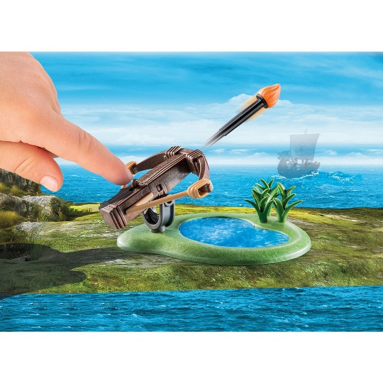 Playmobil Snotlout and Hookfang image number null