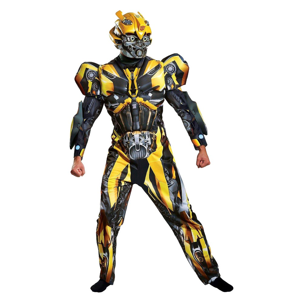 Men's Transformers - Bumblebee Deluxe Adult Costume Kit XL, Multicolored