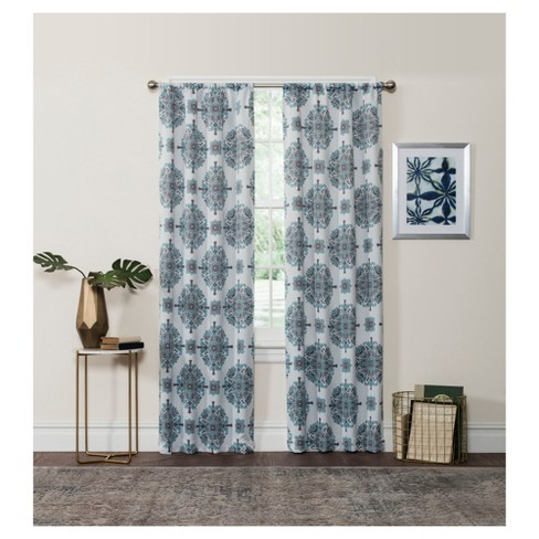 Olivia Thermaweave Blackout Curtain Panel - Eclipse™ - image 1 of 1