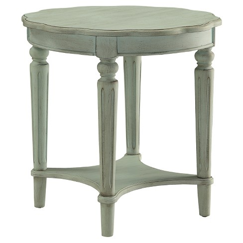 End Table Antique Green - image 1 of 4