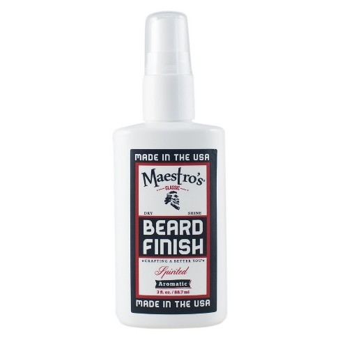 Maestro's Classic Beard Shine Mist - Spirited Blend - 3oz - BF-SPI-3 - image 1 of 4