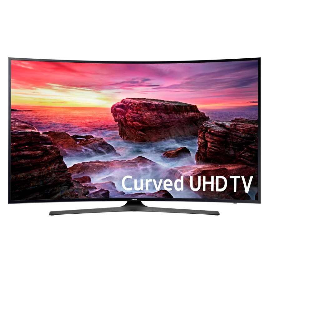 Samsung 65 Curved 4K Uhd Smart TV - 65MU6500, Black