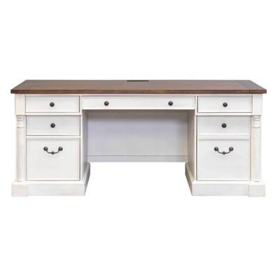 "70"" Durham Credenza White - Martin Furniture"