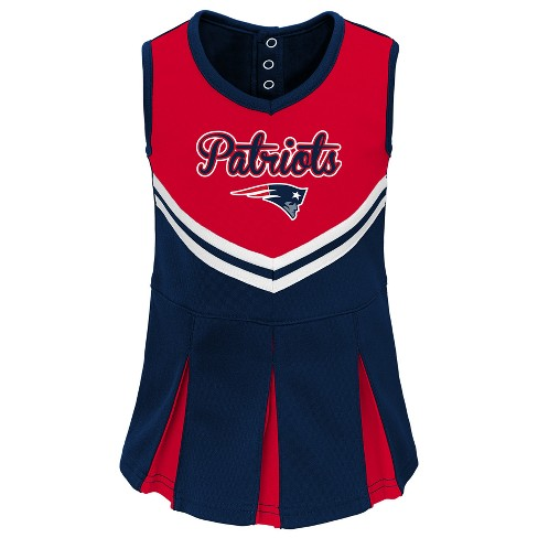 new concept 9c1d4 b82e5 New England Patriots Infant-Toddler In the Spirit Cheer Set 4T
