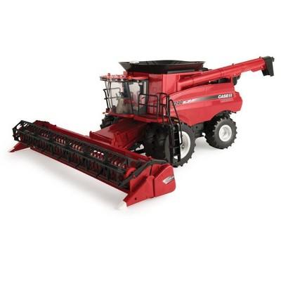 Big Farm Case IH 8240 Combine M2 1:16 With 3020 Grain Head