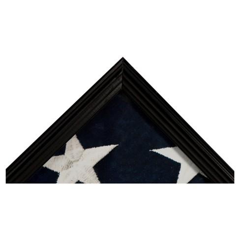 Pinnacle Frames Flag Case / Shadow Box - Black : Target