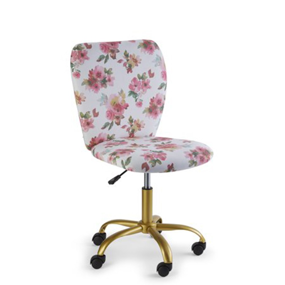 Image of Swivel Office Chair Watercolor Floral - Project 101