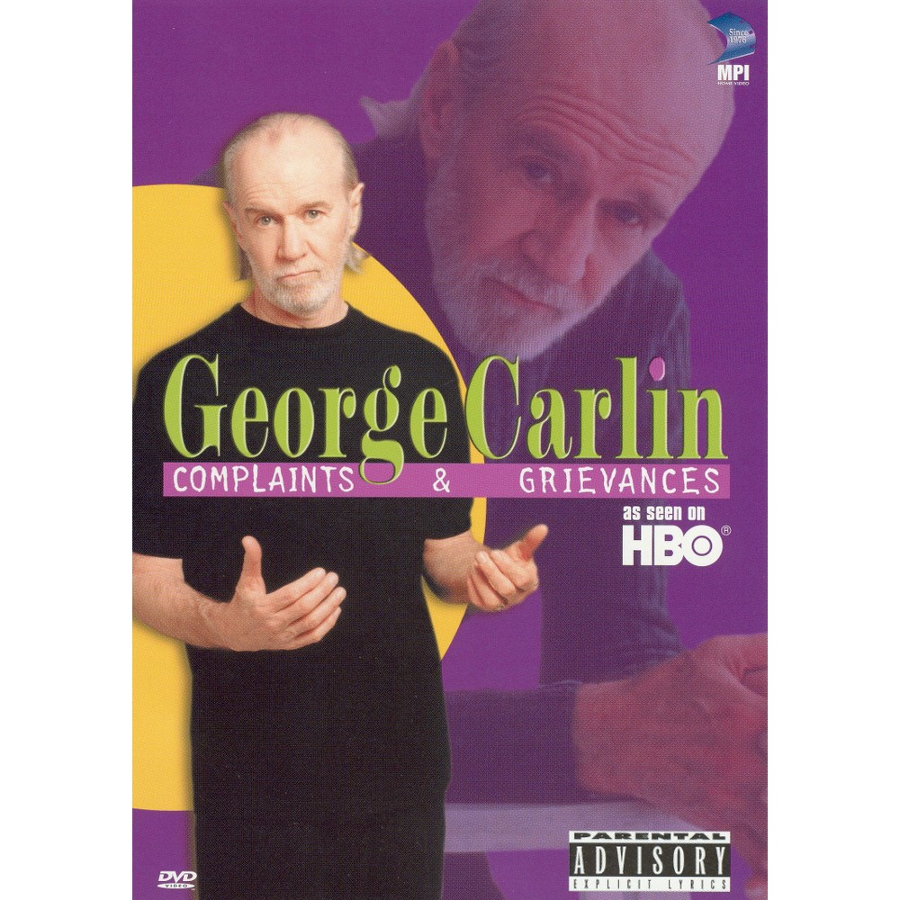 George Carlin:Complaints And Grievanc (Dvd)