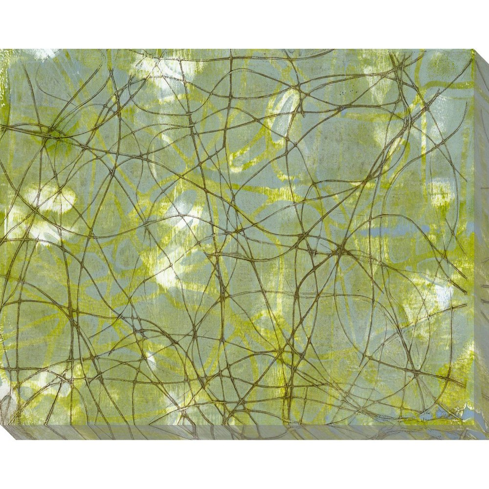 Image of String Theory IV Unframed Wall Canvas Art - (24X30)