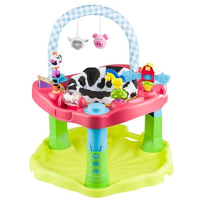 Evenflo® ExerSaucer Bounce & Learn Activity Center - Moovin & Groovin