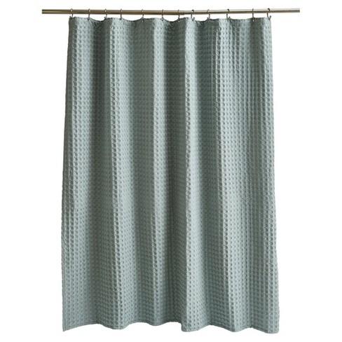 Wide Waffle Shower Curtain - Fieldcrest® - image 1 of 1
