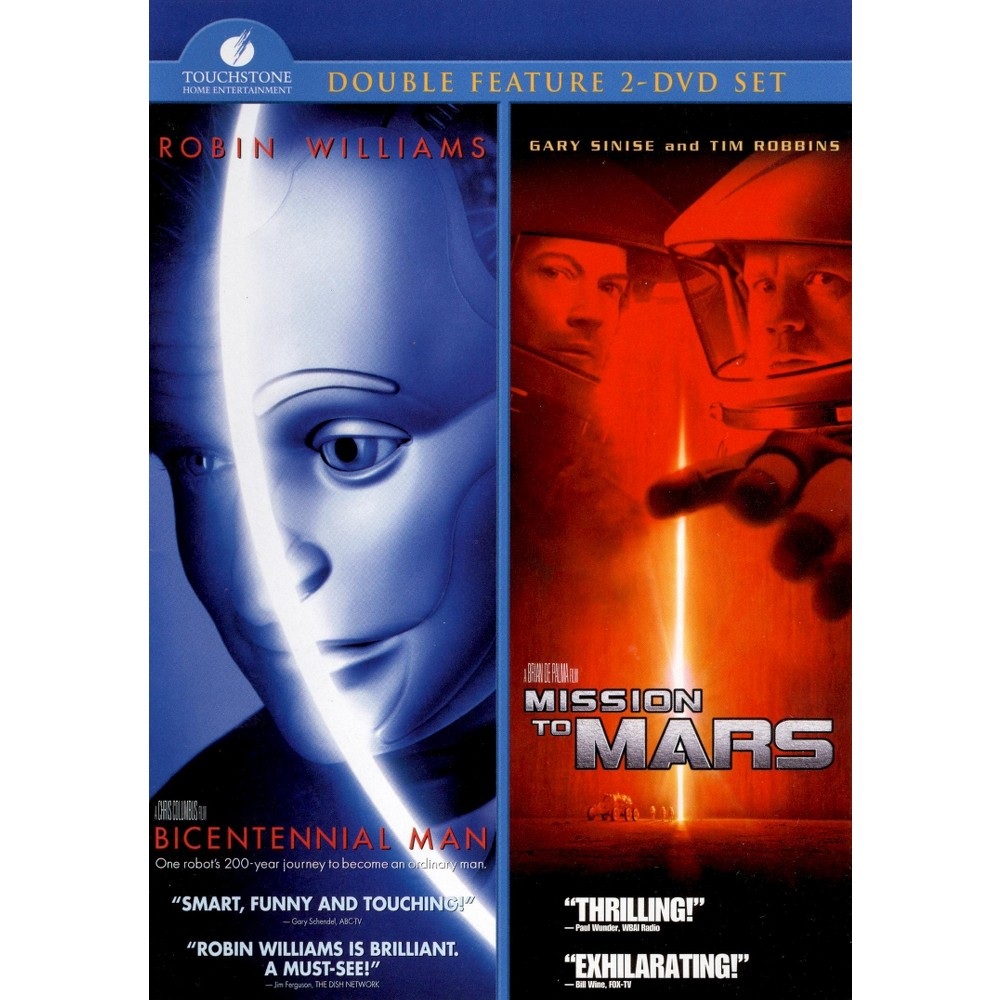 Bicentennial Man/Mission To Mars (Dvd)