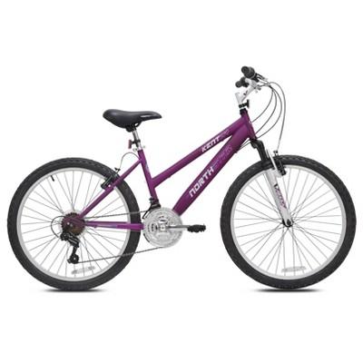 "Kent Northstar 24"" Kids' Mountain Bike - Berry"