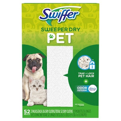 Swiffer Sweeper Dry Refill Pet - 52ct