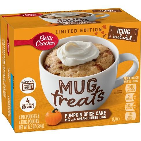 Betty Crocker Pumpkin Spice Mug Treat - 12.5oz - image 1 of 3