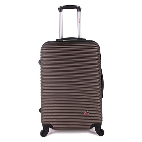 "InUSA Royal 24"" Hardside Spinner Suitcase - Brown - image 1 of 5"