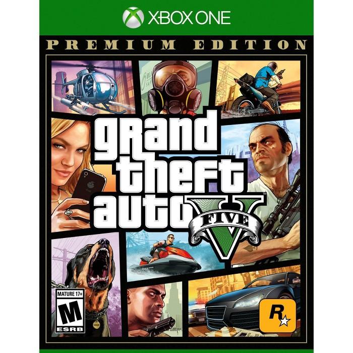 Grand Theft Auto V: Premium Edition - Xbox One : Target