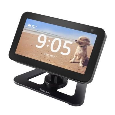 Insten Adjustable Stand for Echo Show 5 (5.5 inch), Aluminum 360° Swivel Desktop Table Holder, Easily Tilt to Forward or Backward, Black