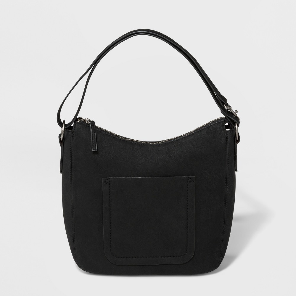 Cassie Convertible Hobo Handbag - Universal Thread Black, Women's