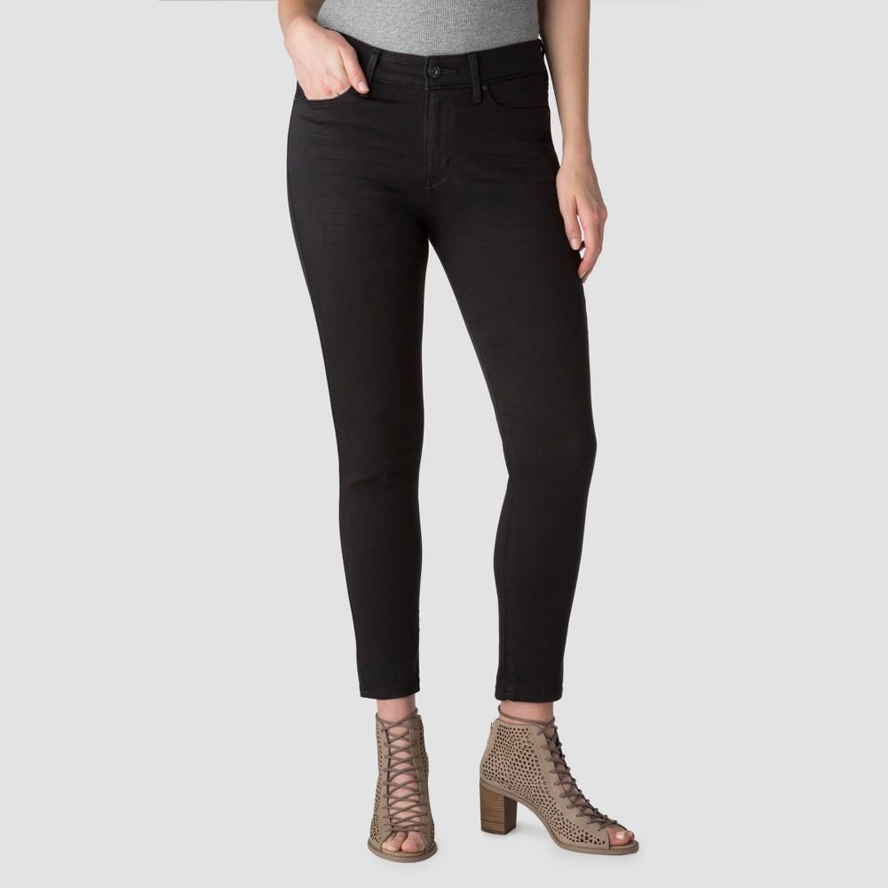 Denizen from Levi's Women's High Rise Ankle Skinny Jeans - Black 12 Long