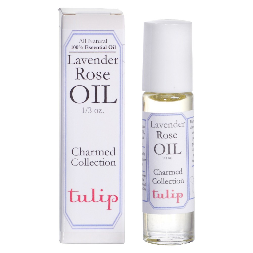 Image of Women's Charmed Lavender Rose by Tulip Perfume Oil - 0.33 oz
