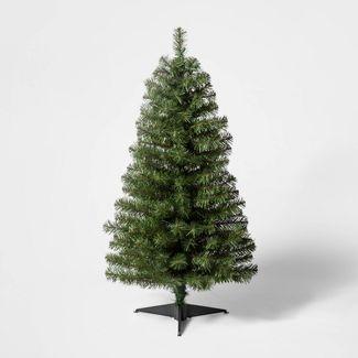 3ft Pre-Lit  Alberta Spruce Clear Lights Artificial Christmas Tree - Wondershop™