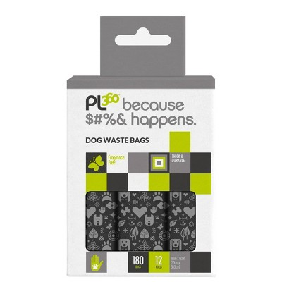 PL360 Dog Waste Bags - 180ct