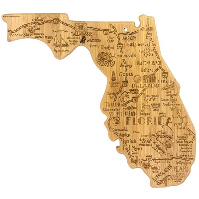 Totally Bamboo Destination Florida Serving and Cutting Board