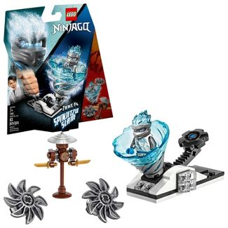 LEGO Ninjago Spinjitzu Slam - Zane Ninja Toy Building Kit with Spinner Toy 70683