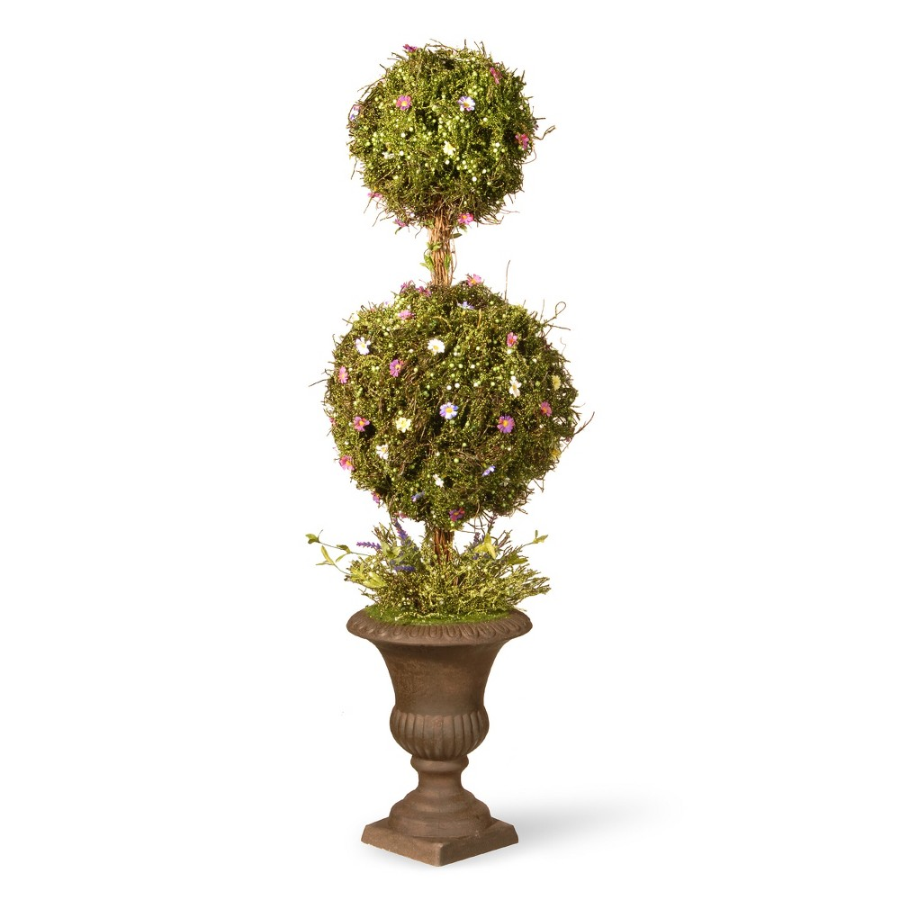 """Image of """"Artificial Spring Topiary Tree Green 45"""""""" - National Tree Company"""""""