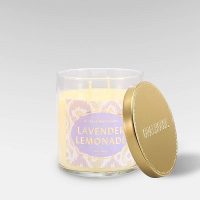 15.1oz Lidded Glass Jar 2-Wick Candle Lavender Lemonade - Opalhouse™