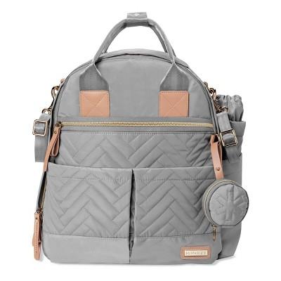 Skip Hop Suite Diaper Bag Backpack Set - 6pc - Charcoal