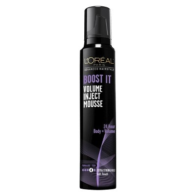 Hair Styling: L'Oreal Paris Boost It Inject Mousse