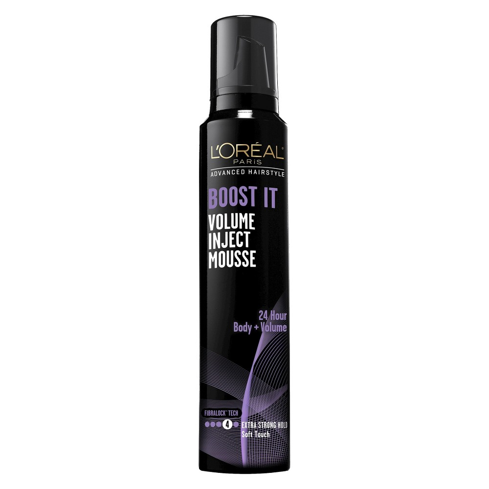 L'Oreal Paris Advanced Hairstyle Boost It Volume Inject Mousse - 8.3oz