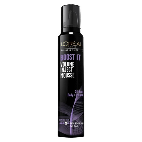 L'Oreal Paris Advanced Hairstyle Boost It Volume Inject Mousse - 8.3oz - image 1 of 2