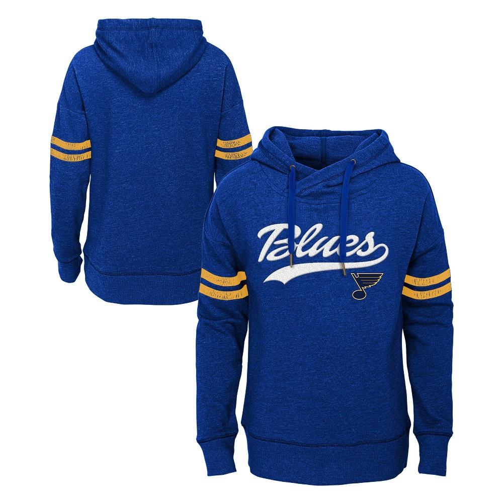St. Louis Blues Girls' OT Fleece Hoodie XL, Multicolored