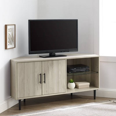 "Contemporary Corner TV Stand for TVs up to 55"" - Saracina Home"