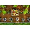 Urbana Keyhole Garden Square Planter - New England Arbors - image 4 of 4