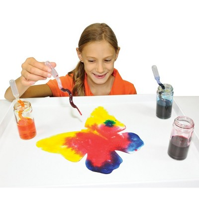 Roylco Absorbent Blots of Paper & 15 Squiggle Pipettes for Painting