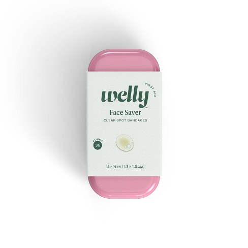 Welly Face Saver Clear Spot Bandages - 36ct - image 1 of 6