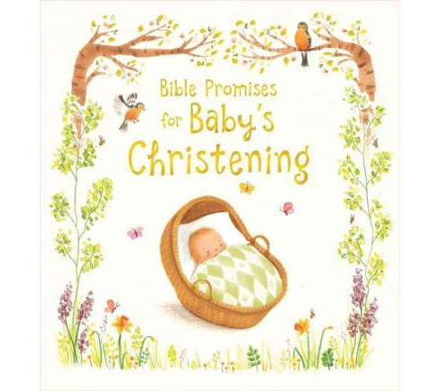 Bible Promises for Baby's Christening (Hardcover) (Sophie Piper) - image 1 of 1