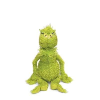 "Manhattan Toy Dr. Seuss The Grinch 11"" Soft Plush Toy"
