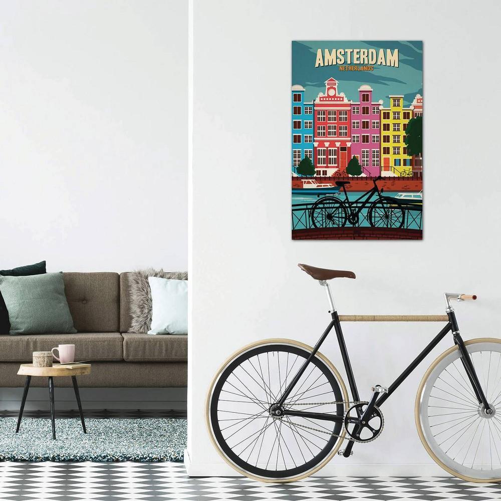18 34 X 12 34 Amsterdam By Ideastorm Studios Unframed Wall Canvas Print Icanvas