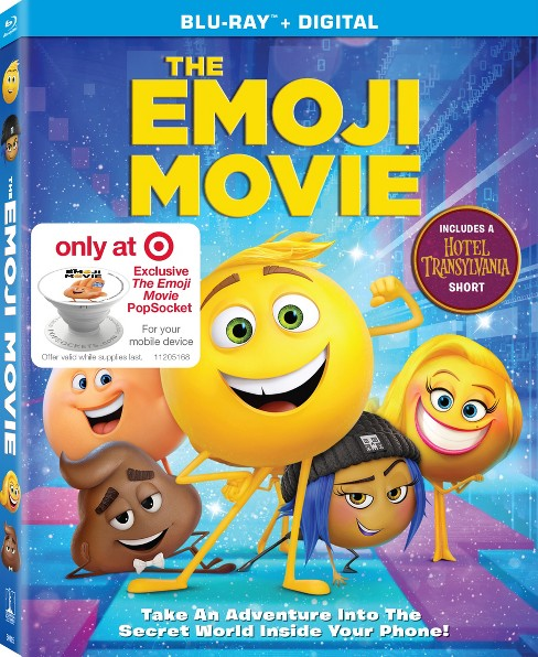 The Emoji Movie Target Exclusive (Blu-ray + Digital) - image 1 of 2