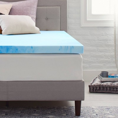 "3"" Gel Infused Memory Foam Mattress Topper - Comfort Revolution"