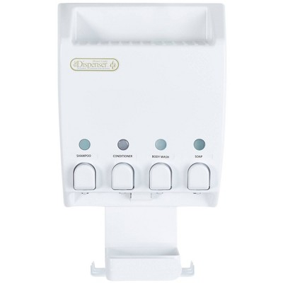 Ulti-mate Dispenser Shower Caddy White - Better Living Products
